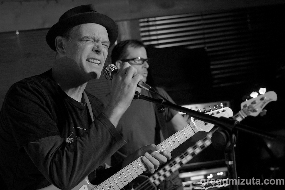 """Piston Bully's Terry Vineyard and Matt Fisher perform during """"Black Friday at the Navajo!"""" on November 25, 2016 at the Navajo Room in Boise, Idaho.<br /> <br /> Bands performing during """"Black Friday at the Navajo!"""" were a.k.a. Belle, Piston Bully, Groggy Bikini and The Screws."""