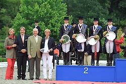 Prizegiving YR<br /> European Championship Junior 2010 <br /> © Hippo Foto - Leanjo de Koster