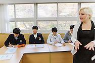 Nicki Gerstner is teaching English at the Shinil High School, Seoul, South Korea.