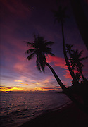 Sunset, Rangiroa, French Polynesia<br />