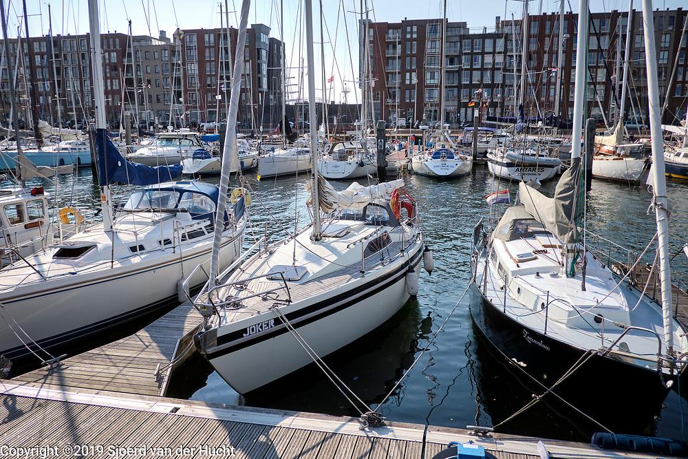The harbour of Scheveningen, The Hague, Netherlands