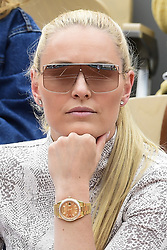 May 30, 2019, Paris, France: Lindsey Vonn watches 2019 French Open. (Credit Image: © Panoramic via ZUMA Press)