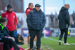 Arbroath's manager Dick Campbell. Arbroath 2 v 0 Montrose, Scottish Football League Division One played 10/11/2018 at Arbroath's home ground, Gayfield Park.