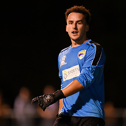 BRISBANE, AUSTRALIA - FEBRUARY 10: Zac Speedy of United looks on during the NPL Queensland Senior Mens Round 2 match between Gold Coast United and Brisbane Roar Youth at Station Reserve on February 10, 2018 in Brisbane, Australia. (Photo by Football Click / Patrick Kearney)