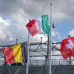 25-09-2020: wielrennen: WK tijdrit mannen: Imola<br /> Impression flags