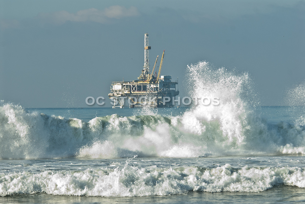 Offshore Platform in Huntington Beach