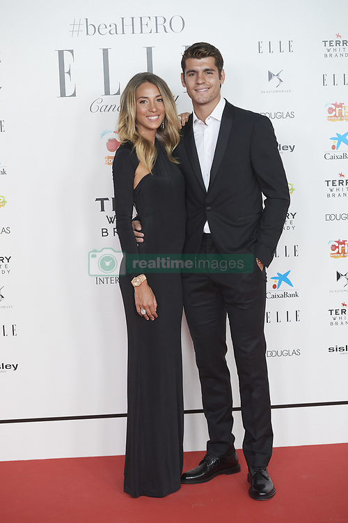 May 30, 2019 - Madrid, Madrid, Spain - Alvaro Morata, Alice Campello attends Solidarity gala dinner for CRIS Foundation against Cancer at Intercontinental Hotel on May 30, 2019 in Madrid, Spain (Credit Image: © Jack Abuin/ZUMA Wire)