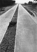 Frankfurt am Main to Mannheim 'autobahn' (motorway) under Construction, 1928