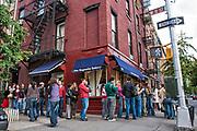 Magnolia Bakery, Bleecker Street, Greenwich Village, Manhattan, New York