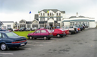 Great Northern Hotel, Bundoran, Co Donegal, Ireland, August, 1999, 199908050<br /> <br /> Copyright Image from Victor Patterson, 54 Dorchester Park, Belfast, UK, BT9 6RJ<br /> <br /> t1: +44 28 9066 1296 (from Rep of Ireland 048 9066 1296)<br /> t2: +44 28 9002 2446 (from Rep of Ireland 048 9002 2446)<br /> m: +44 7802 353836<br /> <br /> victorpattersonbelfast@gmail.com<br /> www.victorpatterson.com<br /> <br /> Please see my Terms and Conditions of Use at http://www.c1382010.myzen.co.uk/pdf/Terms%20&%20Conditions.pdf  It is IMPORTANT that you familiarise yourself with them.<br /> <br /> Images used on the Internet incur an additional cost and must be visibly watermarked i.e. ©Victor Patterson within the body of the image and copyright metadata must not be deleted. Images used on the Internet have a size restriction of 4kbs and are chargeable at rates available at victorpattersonbelfast@gmail.com.<br /> <br /> This image is only available for the use of the download recipient i.e. television station, newspaper, magazine, book publisher, etc, and must not be passed on to any third party. It is also downloaded on condition that each and every usage is notified within 7 days to victorpattersonbelfast@gmail.com.<br /> <br /> The right of Victor Patterson to be identified as the author is asserted in accordance with The Copyright Designs And Patents Act (1988). All moral rights are asserted.