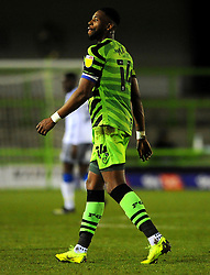 Jamille Matt of Forest Green Rovers - Mandatory by-line: Nizaam Jones/JMP - 27/02/2021 - FOOTBALL - The innocent New Lawn Stadium - Nailsworth, England - Forest Green Rovers v Colchester United - Sky Bet League Two