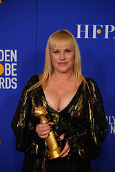 January 5, 2020, Beverly Hills, California, USA: PATRICIA ARQUETTE in the Press Room during the 77th Annual Golden Globe Awards, at The Beverly Hilton Hotel. (Credit Image: © Kevin Sullivan via ZUMA Wire)