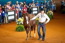 Fonck Bernard, BEL, What a Wave<br /> World Equestrian Games - Tryon 2018<br /> © Hippo Foto - Dirk Caremans<br /> 11/09/2018