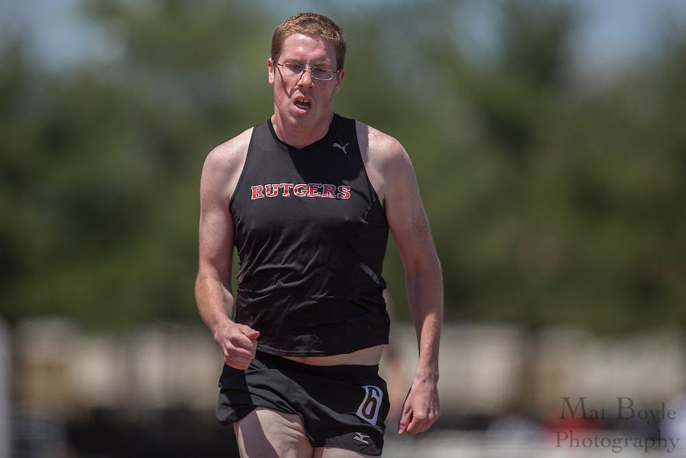 Men's 800 meters at the NJAC Track and Field Championships at Richard Wacker Stadium on the campus of  Rowan University  in Glassboro, NJ on Sunday May 5, 2013. (photo / Mat Boyle)