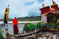 Yambulakhang Palace, Tibet (Xizang), China.
