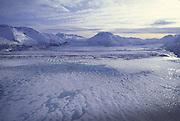 Knik Glacier, Chugach Mountains, Alaska<br />