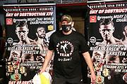 Muay Thai: Day of Destruction XIV, Hamburg, 12.12.2020<br /> IMC-Weltmeisterschaft: Carsten Ringler (GER) - Niclas Larsen (DEN)<br /> © Torsten Helmke