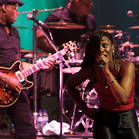 Beverley Knight performing live at Liverpool Philharmonic Hall, 2011-11-14