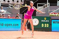 Italian Roberta Vinci during Mutua Madrid Open Tennis 2017 at Caja Magica in Madrid, May 09, 2017. Spain.<br /> (ALTERPHOTOS/BorjaB.Hojas)