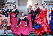 Flamenco dancers, Spain