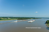 63807-01215 Barge on the Mississippi river near Thebes, IL