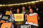 HANDOUT: Panel discussion with cast and crew about Universal Pictures' Night School at Howard Univ.