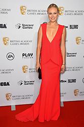 Malin Akerman attending the BAFTA Video Games Awards at the Troxy in east London. Picture date: Thursday April 12th, 2018. Photo credit should read: Matt Crossick/ EMPICS Entertainment.