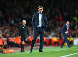 September 20, 2018 - London, England, United Kingdom - Vasyl Sachko manager of FC Vorskla Poltava.during UAFA Europa League Group E between Arsenal and FC Vorskla Poltava at Emirates stadium , London, England on 20 Sept 2018. (Credit Image: © Action Foto Sport/NurPhoto/ZUMA Press)