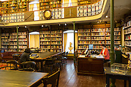 Built over 200 hears ago as the city's first prison, the Morrin Centre now also houses one of the world's most beautiful libraries, Vieux Quebec, Quebec City, QC, Canada
