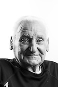 """Adelard Joseph Plante<br /> Army<br /> E-4<br /> Transportation<br /> 1941-1945<br /> WWII<br /> <br /> """"Drove for a general during the war. Traveled through France, Belgium, Poland, Germany and Austria.""""<br /> <br /> """"I'm still alive!""""<br /> <br /> Veterans Portrait Project<br /> Annapolis, MD"""