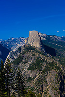 Half Dome, Yosemite National Park, California USA.