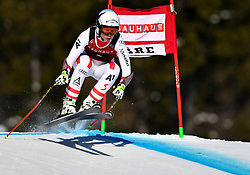 09.03.2017, Are, SWE, FIS Ski Alpin Junioren WM, Are 2017, Super G, Damen, im Bild Dajana Dengscherz, third // during ladie's SuperG of the FIS Junior World Ski Championships 2017. Are, Sweden on 2017/03/09. EXPA Pictures © 2017, PhotoCredit: EXPA/ Nisse<br /> <br /> *****ATTENTION - OUT of SWE*****