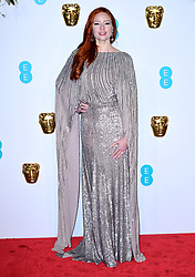Barbara Meier attending the 72nd British Academy Film Awards held at the Royal Albert Hall, Kensington Gore, Kensington, London.