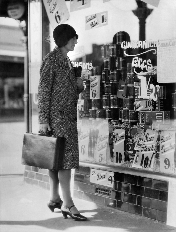 Shopping For Housekeeping, Middle Class Home, Australia, 1930
