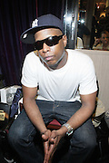 Talib Kweli backstage at Talib Kweli & Hi-Tek: Reflection Eternal produced by Jill Newman Productions held at The Blue Note on March 10, 2009 in New York City