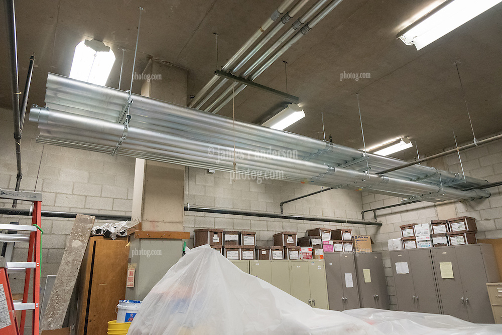 Central High School Bridgeport CT Expansion & Renovate as New. State of CT Project # 015--0174   Progress Submission 02 Interior 27 March 2015