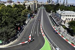 June 24, 2017 - Baku, Azerbaijan - Motorsports: FIA Formula One World Championship 2017, Grand Prix of Europe, .#21 Esteban Gutierrez (MEX, Haas F1 Team) (Credit Image: © Hoch Zwei via ZUMA Wire)