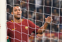 October 14, 2017 - Rome, Italy - Juan Jesus during the Italian Serie A football match between A.S. Roma and S.S.C. Napoli at the Olympic Stadium in Rome, on october 14, 2017. (Credit Image: © Silvia Lor/Pacific Press via ZUMA Wire)