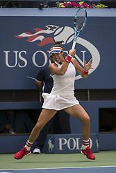 August 28, 2017 - New York, New York, USA - AUG 28, 2017: Garbiñe Muguruza (ESP) during the 2017 U.S. Open Tennis Championships at the USTA Billie Jean King National Tennis Center in Flushing, Queens, New York, USA. (Credit Image: © David Lobel/EQ Images via ZUMA Press)