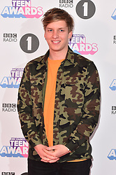 George Ezra attending the BBC Radio 1 Teen Wards, at Wembley Arena, London. Picture date: Sunday October 22nd, 2017. Photo credit should read: Matt Crossick/ EMPICS Entertainment.