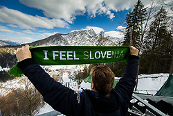 I feel Slovenia during Ski Flying Hill Individual Competition at Day 2 of FIS Ski Jumping World Cup Final 2018, on March 23, 2018 in Planica, Ratece, Slovenia. Photo by Ziga Zupan / Sportida