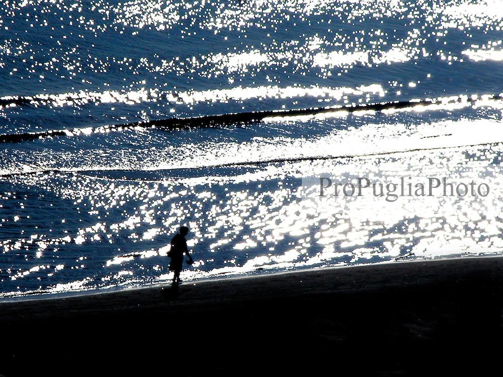 Passeggiata sulla spiaggia