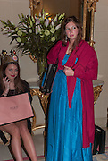REBECCA HOFFNUNG;; SASHA GALITZINE ;, Tatler magazine Jubilee party with Thomas Pink. The Ritz, Piccadilly. London. 2 May 2012