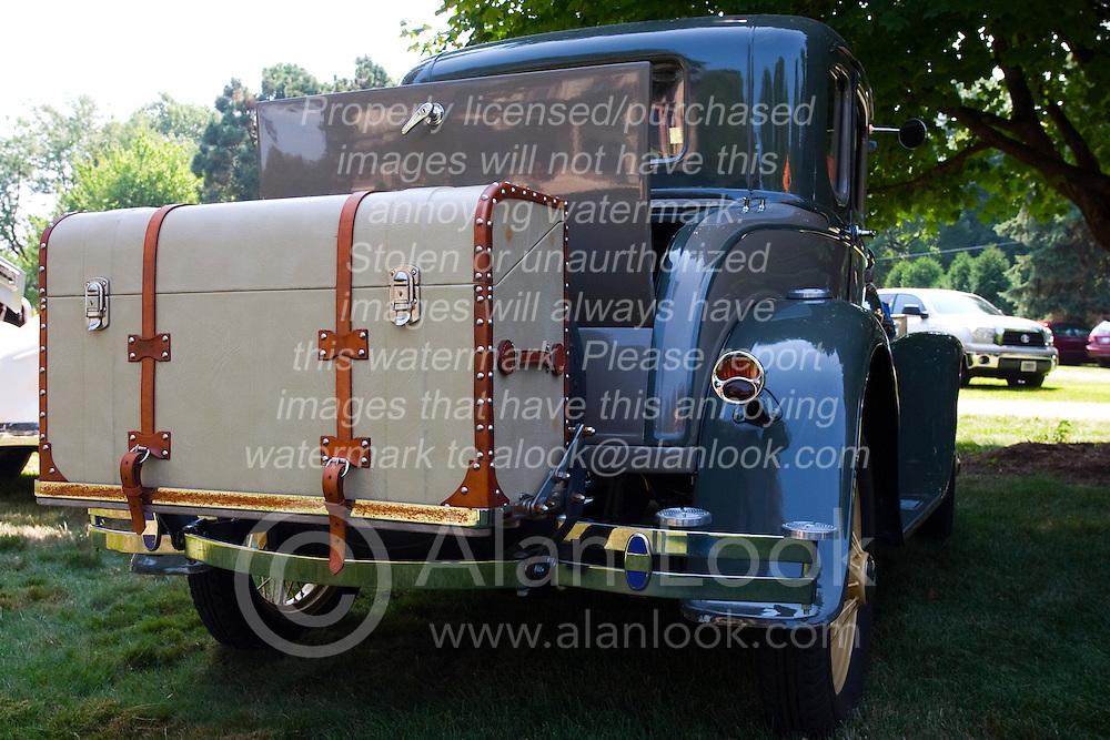 7 August 2010: 1931 Ford. Antique Car show, David Davis Mansion, Bloomington Illinois