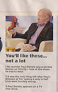 Paul Daniels / Mail on Sunday / October 2010