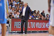 DESCRIZIONE : Beko Legabasket Serie A 2015- 2016 Dinamo Banco di Sardegna Sassari -Vanoli Cremona<br /> GIOCATORE : Romeo Sacchetti<br /> CATEGORIA : Ritratto Allenatore Coach<br /> SQUADRA : Dinamo Banco di Sardegna Sassari<br /> EVENTO : Beko Legabasket Serie A 2015-2016<br /> GARA : Dinamo Banco di Sardegna Sassari - Vanoli Cremona<br /> DATA : 04/10/2015<br /> SPORT : Pallacanestro <br /> AUTORE : Agenzia Ciamillo-Castoria/C.Atzori