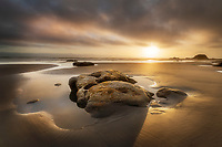 Kalaloch Beach sunset, Olympic National Park Washington