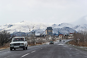 A general view of the outskirt of the city of Vanadzor on Sunday, Jan 16, 2021. It is the third-largest city in Armenia, serving as the capital of Lori Province in the northern part of the country. It is located about 128 kilometres north of the capital Yerevan. (Photo/ Vudi Xhymshiti)