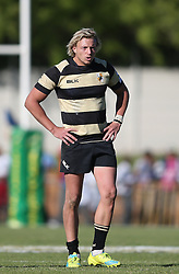 Robbie Louw of Boland during the Currie Cup premier division match between the Boland Cavaliers and The Blue Bulls held at Boland Stadium, Wellington, South Africa on the 23rd September 2016<br /> <br /> Photo by:   Shaun Roy/ Real Time Images