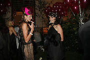 Romana Rainey and Victoria Asher, The Moet and Chandon Fashion Tribute 2006 Honouring British Photographer Nick Knight. Strawberry Hill House. Twickenham. 24 October 2006. -DO NOT ARCHIVE-© Copyright Photograph by Dafydd Jones 66 Stockwell Park Rd. London SW9 0DA Tel 020 7733 0108 www.dafjones.com